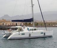 Cat Lagoon 440 available for charter in Marina Ibiza