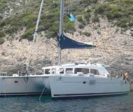 Cat Lagoon 440 for hire in Kos Marina
