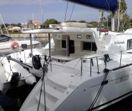 Catamaran Lagoon 440 available for charter in Furnari