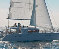 Cat Lagoon 450 available for charter in Joma Marina