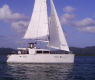 Catamaran Lagoon 450 available for charter in Yacht Haven Marina Phuket