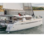 Catamaran Lagoon 450 available for charter in French Cul de Sac