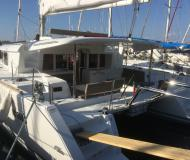 Cat Lagoon 450 for hire in Marina di Portorosa