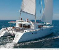 Cat Lagoon 450 available for charter in Le Marin