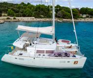 Cat Lagoon 450 available for charter in ACI Marina Trogir