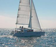 Cat Lagoon 450 for rent in Marigot Bay Marina