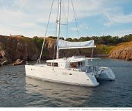 Cat Lagoon 450 for rent in Gouvia