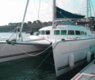 Katamaran Lagoon 500 chartern in Marina Joyeria Relojeria
