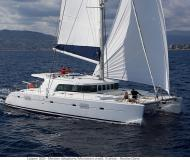 Cat Lagoon 500 for charter in Marina Joyeria Relojeria
