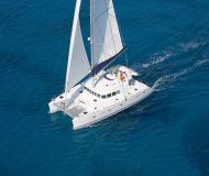 Catamaran Lagoon 500 for charter in Salerno