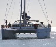 Catamaran Lagoon 560 for hire in Le Vieux Port Cannes