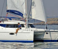 Catamaran Lavezzi 40 available for charter in Taalintehdas