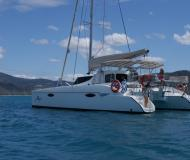 Cat Lavezzi 40 available for charter in Abel Point Marina