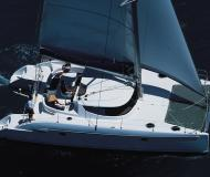Cat Lavezzi 40 for hire in ACI Marina Trogir