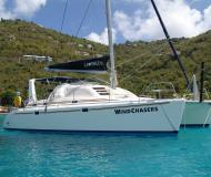 Catamaran Leopard 38 for hire in Belize City
