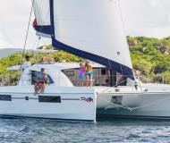 Cat Leopard 40 available for charter in Cannigione Marina