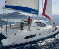Catamaran Leopard 44 for charter in Procida Marina