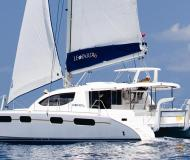 Cat Leopard 46 for charter in Rock Sound City