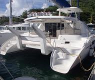 Cat Leopard 46 for charter in Manuel Reef Marina