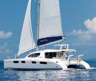 Cat Leopard 46 for hire in Marina Villa Igiea