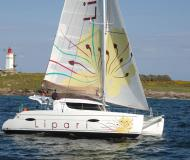 Cat Lipari 41 available for charter in Pula