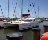 Cat Lipari 41 available for charter in Port Annapolis Marina