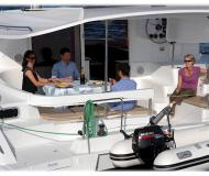 Catamaran Lipari 41 for hire in Port de Mahon
