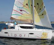 Catamaran Lipari 41 for hire in Port de Mahon