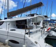 Catamaran Lipari 41 available for charter in Manuel Reef Marina