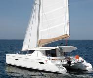 Katamaran Lipari 41 chartern in Porto Montenegro