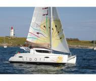 Kat Lipari 41 chartern in Marina Abel Point