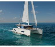 Cat Lucia 40 available for charter in Trogir