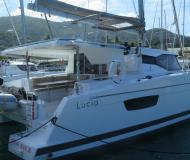 Cat Lucia 40 for rent in Road Town