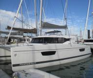 Cat Lucia 40 for charter in Joma Marina