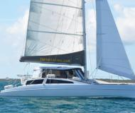 Kat Maine Cat 38 Yachtcharter in Hope Town Marina