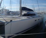 Catamaran Nautitech 47 available for charter in La Grande Motte