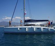 Cat Nautitech 47 available for charter in Marmaris