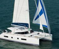Catamaran Nautitech 542 for hire in Denia
