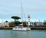 Cat Nautitech Open 40 for rent in Lefkas Marina