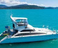 Motor yacht Perry 44.5 PC available for charter in Abel Point Marina