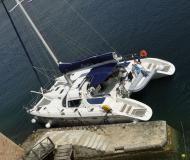 Catamaran Privilege 465 available for charter in Marmaris