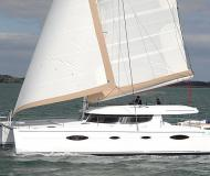 Cat Salina 48 available for charter in Gouvia