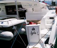 Cat Salina 48 for hire in Marina Kastela