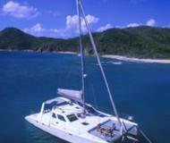 Catamaran Voyage 440 for rent in Puerto Deportivo Radazul