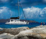 Catamaran Voyage 500 for charter in Sopers Hole Marina