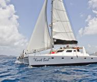 Catamaran Voyage 500 available for charter in Sopers Hole