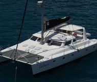 Katamaran Voyage 500 Yachtcharter in Sopers Hole