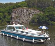 Houseboat Estivale Sixto available for charter in Marina Saverne