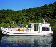 Houseboat Penichette 1106 available for charter in Marina Lutzelbourg