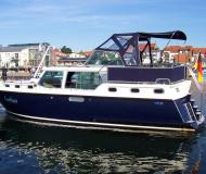 Houseboat Proficiat 1200 Exclusive available for charter in Marina Eldenburg